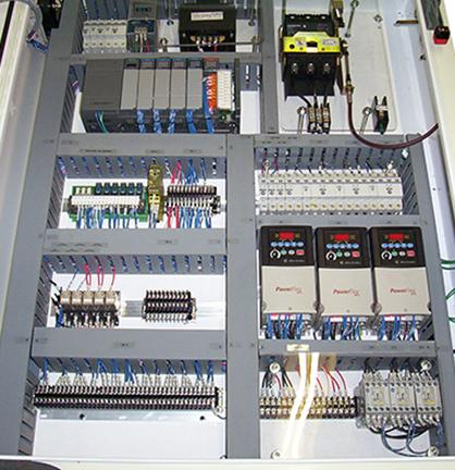 6133 - PLC Automation Control Panel