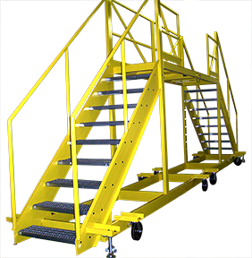 6368 - Custom Rolling Ladder