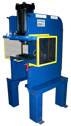 6435 - Custom Hydraulic Vertical Press