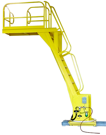 6615 - Personnel Ladder with 90 Degree Pivot Feature