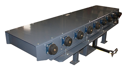6791 - Line 6 Mechanical Turntables with Powered Rollers