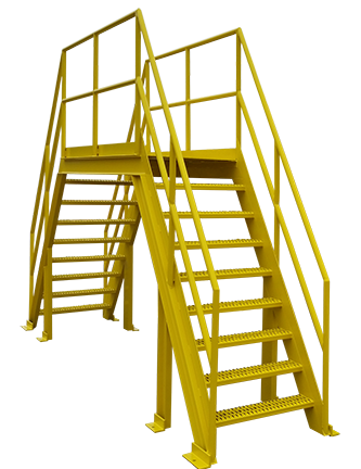 6792 - Walkover Bridge for Conveyor System
