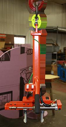 7018-2 - Custom End-of-Hook Lifting Device
