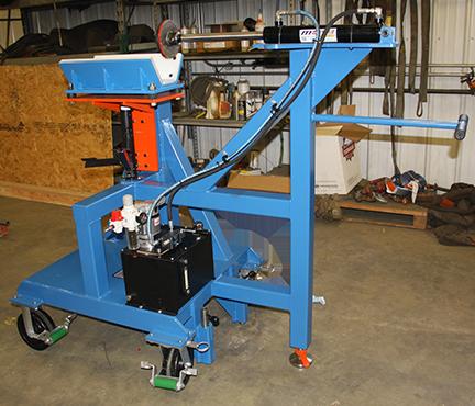 7100 - Horizontal Pinning Press