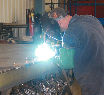 welding at Aura Systems