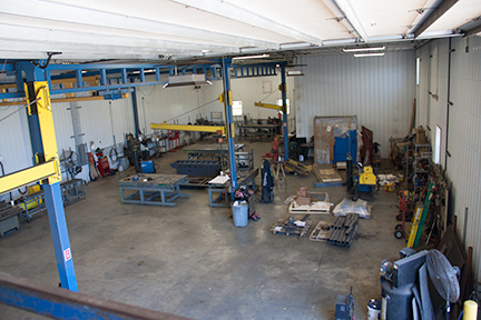 fabrication floor