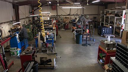 machining floor